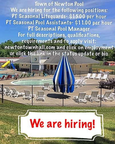2020 Pool We are Hiring
