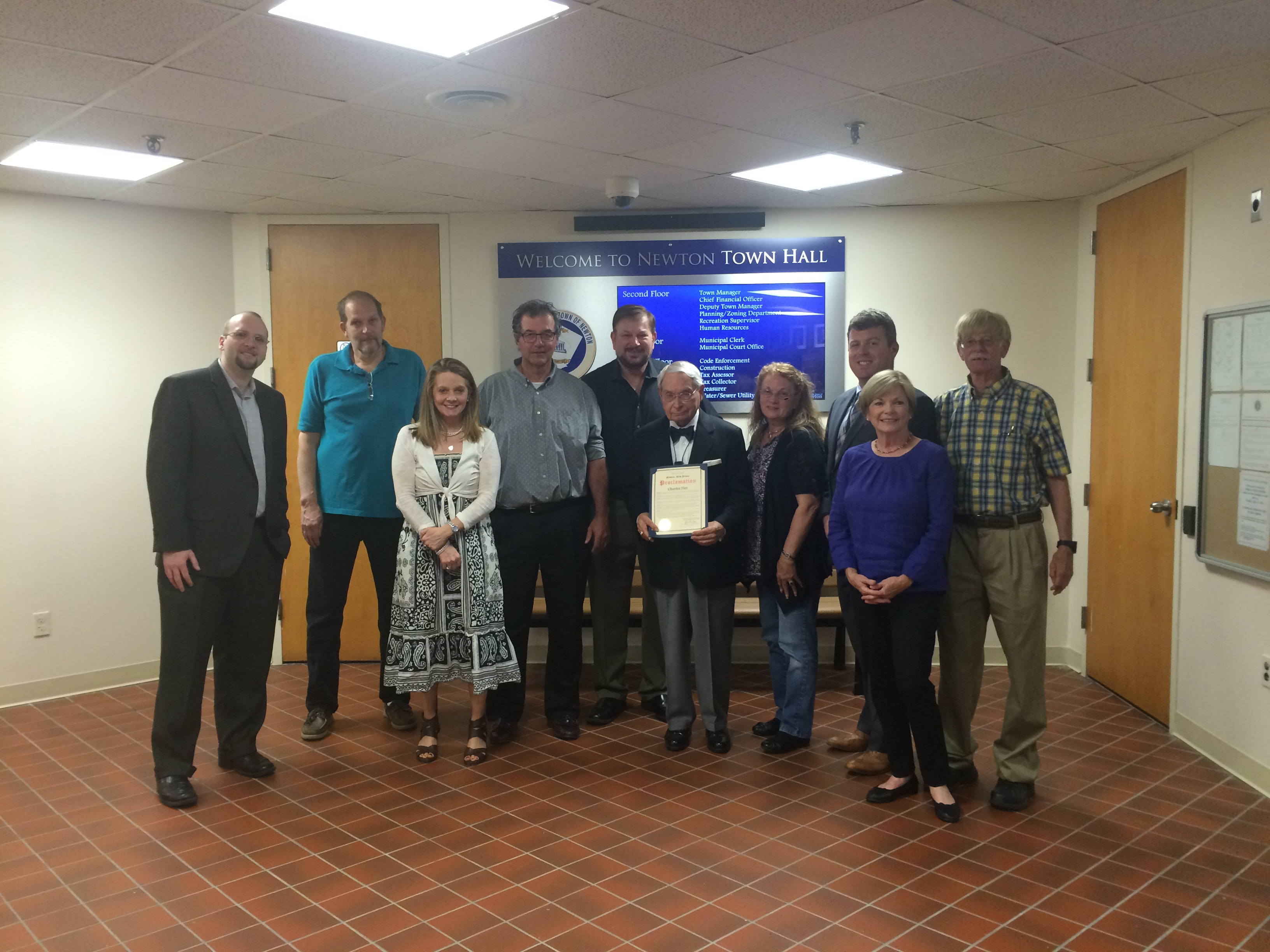 Newton Historic Preservation Advisory Commission's 2016 Citizen of Year